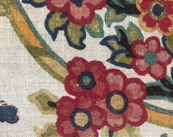 "Lee Jofa ""Tetbury"" Fabric Remnant in Color ""Multi"""