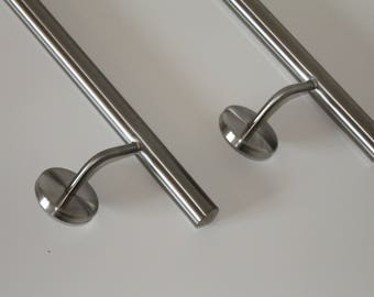 Elegant and modern handrail made from 100% stainless steel - from 50 cm to 600 cm