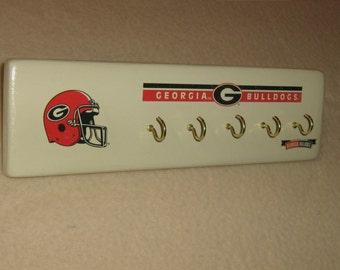 Georgia Bulldogs key rack