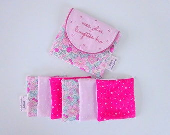 Biological wipes Liberty betsy amelie and their matching pouch