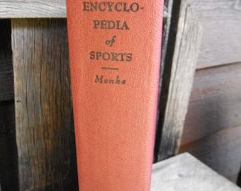 Vintage Book - Encyclopedia of Sports - Menke