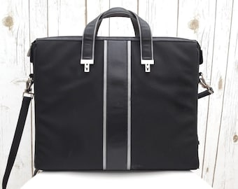 TUMI Laptop briefcase bag leather ,messenger bag