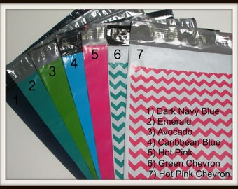 Reserved Listing - 200 Total - 100 6x9 & 100 9x12 Poly Mailer Envelopes - NEW - You pick the Colors