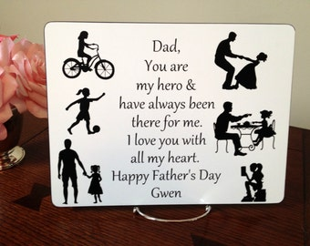 Birthday Gift for Dad from Daughter, Dad's Gift for Dad from Daughter, Fathers Day Gift from Daughter, Birthday Gift for Dad from Daughter