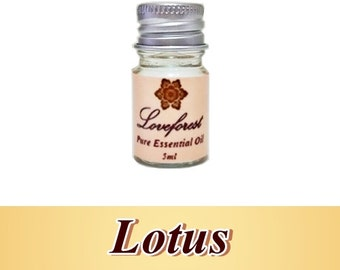 Lotus 5ml Pure Therapeutic Essential Oil Free Shipping