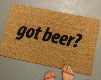 Got Beer? Doormat
