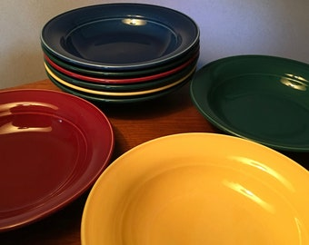Assorted Nancy Calhoun stoneware soup bowls - price is for each