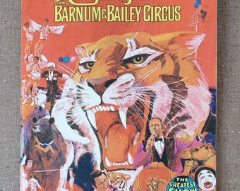 Ringling Brothers and Barnum & Bailey Circus 104th Edition Souvenir Program and Magazine, 1974