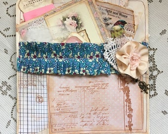 Junk Journal Embellishment and Tag Kit