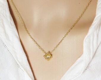 Merkaba Necklace, Merkaba Pendant, Kabbalah Jewelry, 3D Star of David, Sacred Geometry, Merkaba Charm, Kabbala 3D Star of David, Gift Idea.