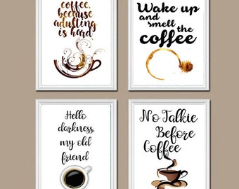 Coffee Wall Art Set