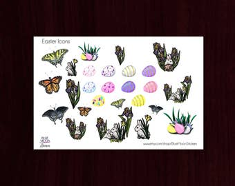 Easter Ostara Spring Stickers