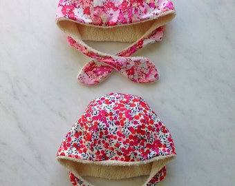 pattern: chind hat, with drawing,