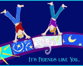 It's Friends like You - Greeting Card