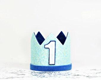 First Birthday Boy | Boy Birthday Crown | Boy Party Hat | Boy Birthday Outfit | Birthday Crown | Boy Birthday