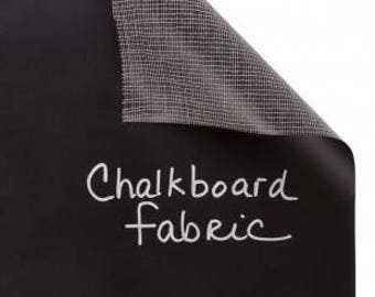 "Chalkboard Blackboard Fabric  12""x12""-12""x47.5"" Cut to Order, Will be One Piece if Ordering More Than One"