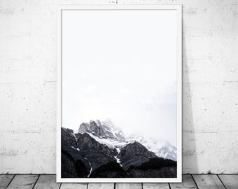 Mountains Wall Art, Mountain Print, Wilderness Print, Nature Print, Mountain Landscape, Nature Photography, Wanderlust Print, Mountain Photo
