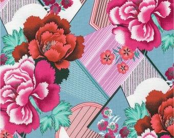 Designer Ironing Board Cover - Amy Butler Splendor Double Fault Floral Cherry