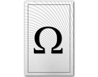Omega, Math Poster
