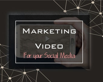 Marketing Video, Social Media, Animated Instagram, Video Montage, Facebook Marketing, Slideshow, Business Marketing, Business Video, Brand