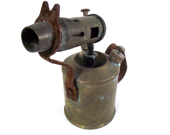 Vintage Metal Blow Torch - Made in Sweden