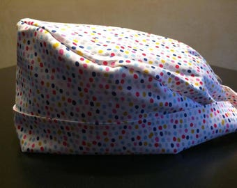 Operating Hat * Hat * dots * multicolored