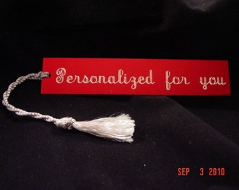 Bookmarkers, Bible  Book marks Personalized Engraved Color Choices