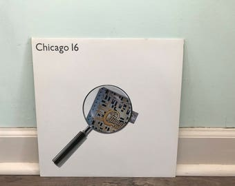"Chicago ""16"" vinyl record"