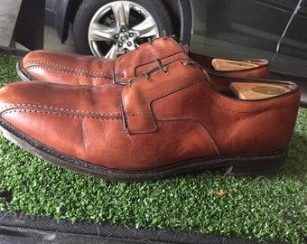 Brown Allen Edmonds Men's Dress Shoes, Size 15
