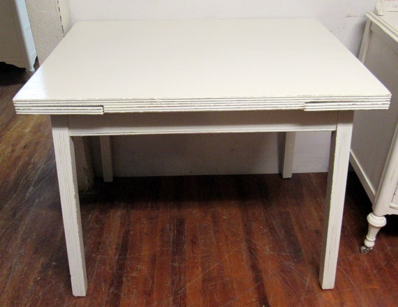 Shabby Chic White Dining Table