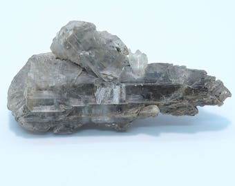 Natural Selenite Gypsum Crystal Cluster from Union County, South Dakota