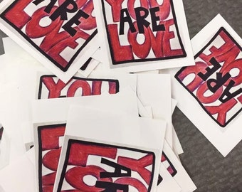 You Are Love Mini Cards