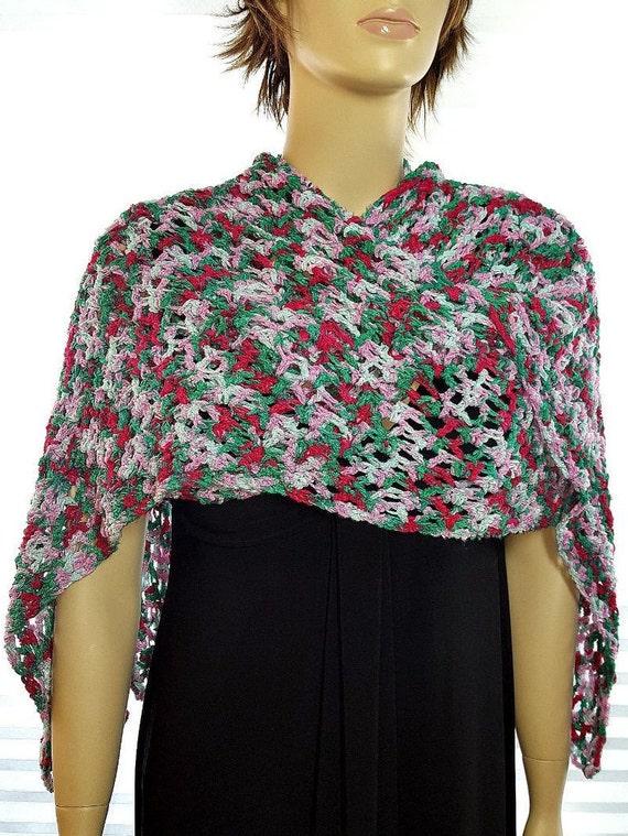 Artículos similares a Ruana Ruana Poncho, Ruana capa, Ruana Crochet ...