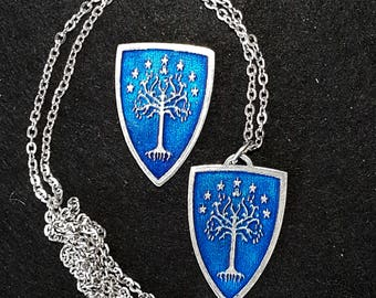 White Tree of Gondor - Pewter Lapel Pin/Pendant/Magnet