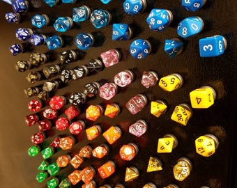 Polyhedral Dice Magnets - Dungeons & Dragons/Gaming