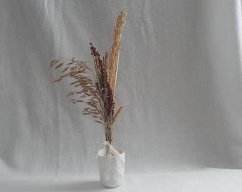 Mini Mixed Kansas Grass Bouquet; Dried Grasses