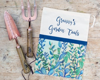 Personalised Bag and Garden Tools