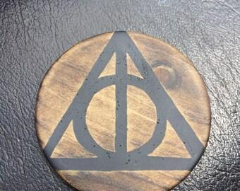 Deathly Hallows Coaster