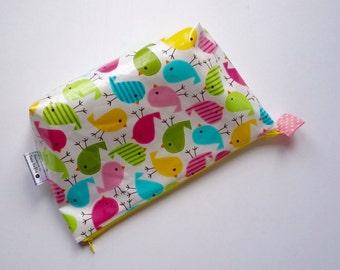 Baby Birds wipe clean wash bag