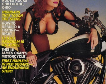Easyriders Magazine February 1993 Excellent Plus Condition Motorcycle Tattoos Girls  Mature