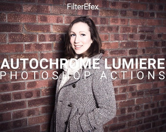 Autochrome Lumière Photoshop Actions