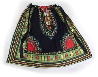 Traditional Print Skirt