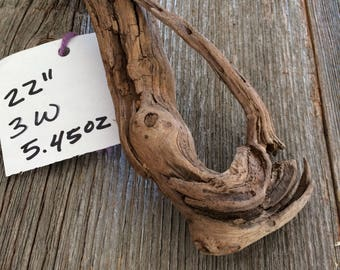 One of a kind driftwood from The Great Mississippi River Valley