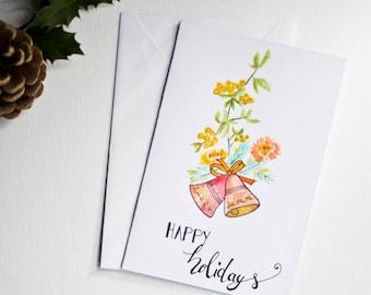 Christmas greeting card / season's greetings / christmas wishes / celebration