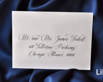 RESERVE A SPOT - Custom Calligraphy Addressing Envelope Printing