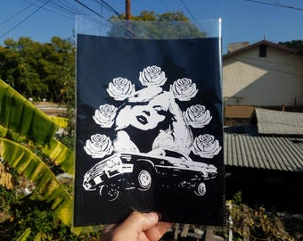 "Cruisin' #1 8x10""  art print"