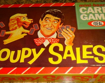 1965 Soupy Sales Mini Board Card Game