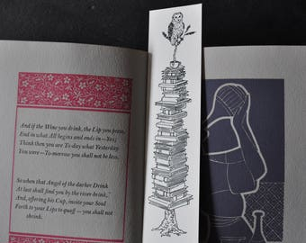 Barn Owl Bookmark