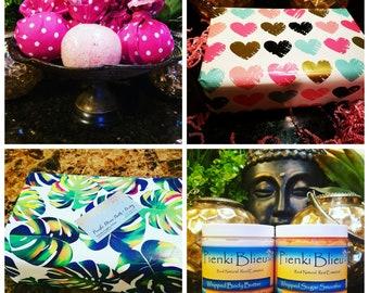 Special Occasion Gift Set w/ Sugar Scrub