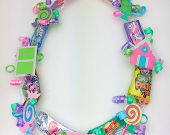 Candyland Party - Candyland Birthday - Candyland Theme - Candyland Party Favor - Candy Land Party - Candy Land Party - Candyland Candy Lei